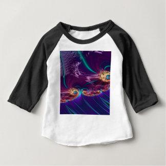 Grained Festiveness Fractal Baby T-Shirt
