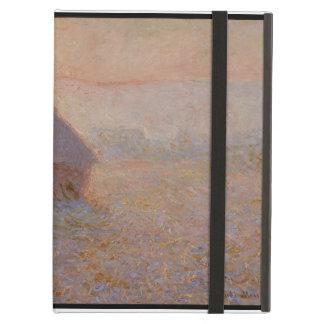 Grainstack, Sun in the Mist, 1891 (oil on canvas) iPad Cover