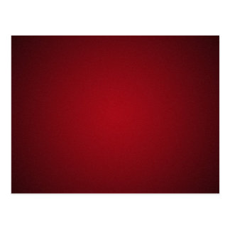 Grainy Red-Black Vignette Postcard