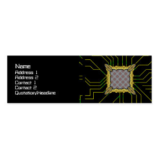 Grainy Suns Pack Of Skinny Business Cards