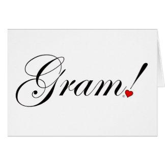 Gram! Card