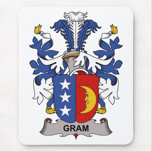 Gram Family Crest Mousepad