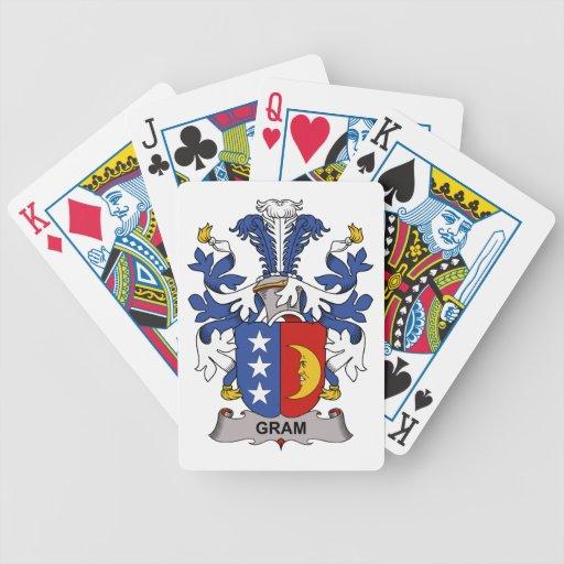Gram Family Crest Card Decks