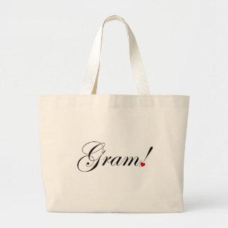Gram! Large Tote Bag