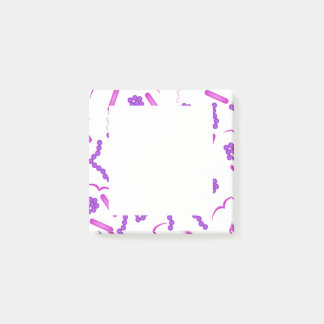 Gram Stain Post-it Notes