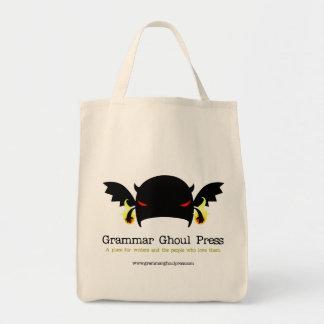 Grammar Ghoul Grocery Bag