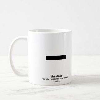 Grammar Mug Dash Punctuation Mark Gag Gifts