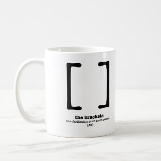 Grammar Mug English Teacher Gift Brackets