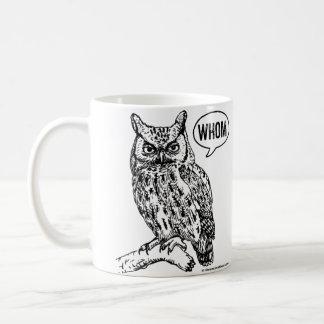 Grammar Mug English Teacher Whom Owl