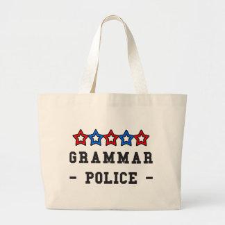 Grammar Police Tote Bags