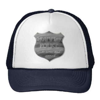 grammar police cap