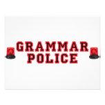 Grammar Police Custom Announcement