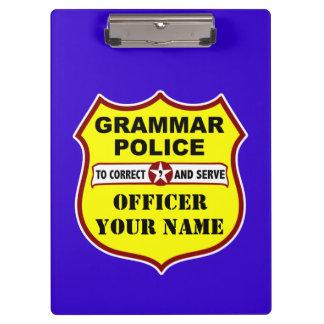 Grammar Police Customizable Clipboard