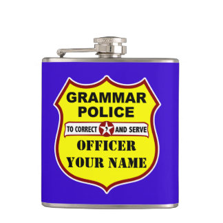 Grammar Police Customizable Flask