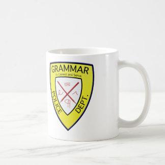 Grammar Police Department Mug