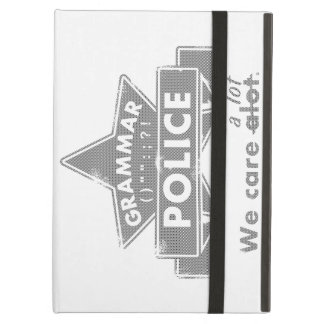 Grammar Police iPad Air Case