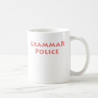 Grammar Police! Coffee Mugs