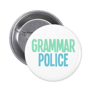 Grammar Police Pin