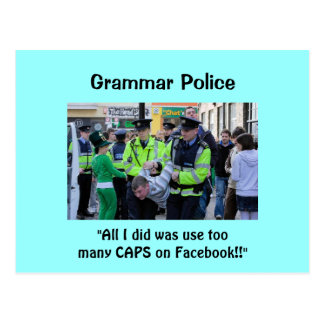 Grammar Police - Postcards
