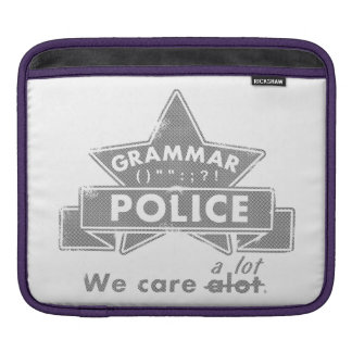 Grammar Police Sleeve For iPads