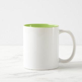 Grammar Sheriff Two-Tone Coffee Mug