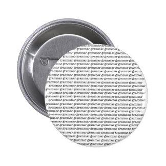 Grammar x Infinity Pinback Button