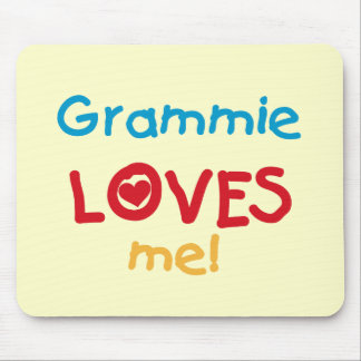 Grammie Loves Me T-shirts and Gifts Mousepad