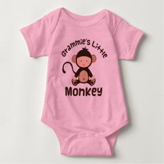 Grammies Little Monkey Baby Bodysuit