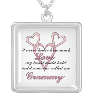 Grammy (I Never Knew) Mother's Day Necklace