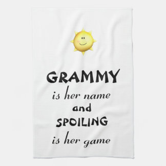 Grammy kitchen towel Grandma gifts