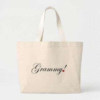 Grammy! Large Tote Bag
