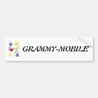 GRAMMY-MOBILE BUMPER STICKER