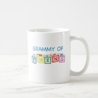 Grammy of Twins Blocks Coffee Mug