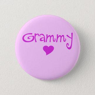 Grammy With Heart 6 Cm Round Badge