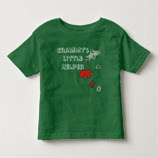 Grammy's  little helper Lady bug cool hip custom Toddler T-Shirt