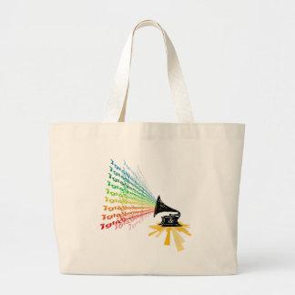 """Gramophone"" by Nick winner 06.22.09 Jumbo Tote Bag"