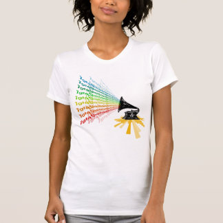 """Gramophone"" by Nick winner 06.22.09 T-shirts"