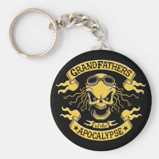 Gramps of the Apocalypse Basic Round Button Key Ring