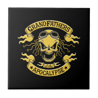 Gramps of the Apocalypse Ceramic Tile