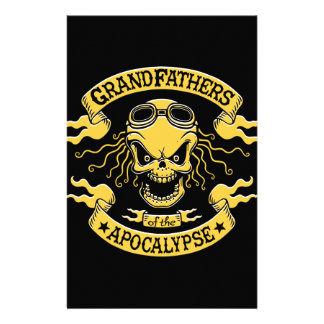 Gramps of the Apocalypse Stationery