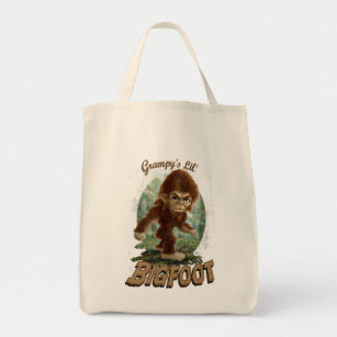 3735c81c Grampy's Little Bigfoot Tote Bag