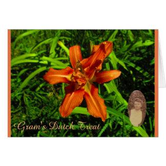 Gram's Dutch Treat Card