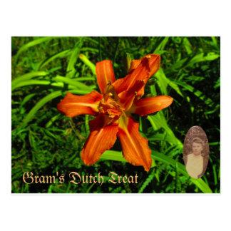 Gram's Dutch Treat Postcard
