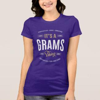 Grams T-shirts Gifts
