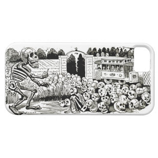 Gran Calavera Eléctrica iphone 5 Barely There case