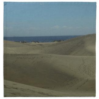 Gran Canaria Sand Dunes Napkin