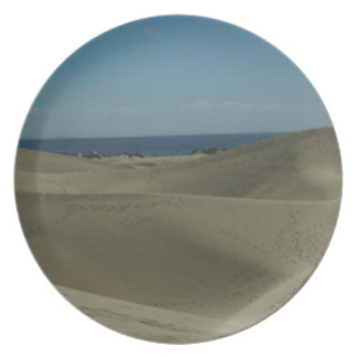 Gran Canaria Sand Dunes Plate