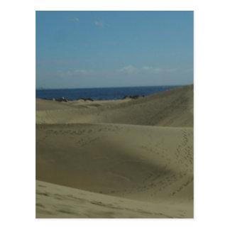 Gran Canaria Sand Dunes Postcard