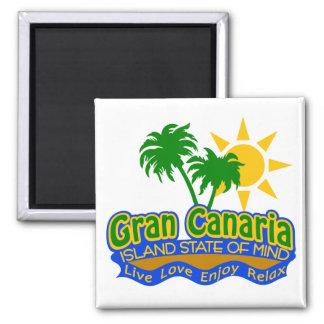 Gran Canaria State of Mind magnet