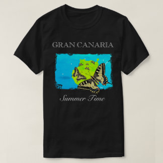 Gran Canaria - Summer Time T-shirt Black